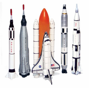 NASA 5 Rocket Mini Set
