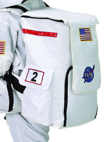 NASA Astronaut Flight Gear Backpack White