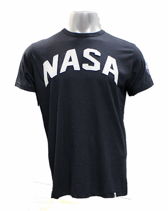 Mens T-Shirt 47 Brand NASA Field House Navy