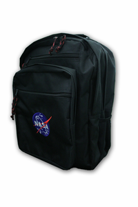 Official Nasa Logo Backpack Black