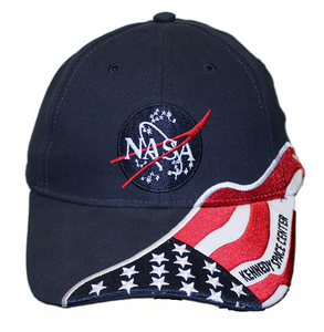 NASA Logo Flag Hat