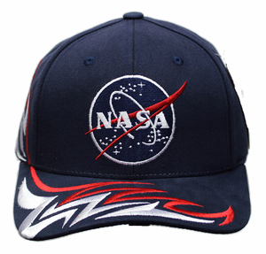 Mens Hat - American Needle NASA Logo Shred - Navy