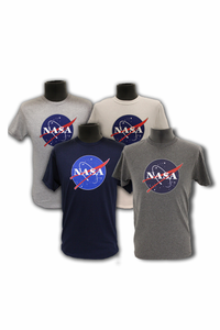 Mens T-Shirt Official NASA Meatball Logo