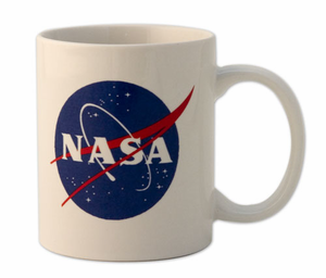 Official NASA Meatball Logo White Mug