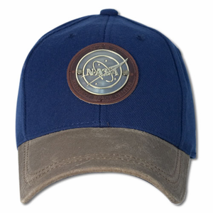 Mens Hat - American Needle NASA Metal Stud - Navy