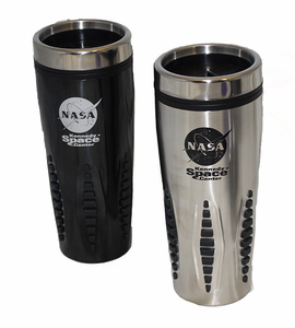 NASA Stainless Travel Mug - Silver