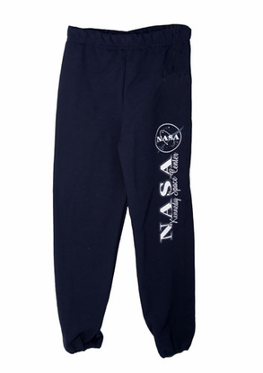 Kids Official NASA Meatball Logo Sweatpants Navy