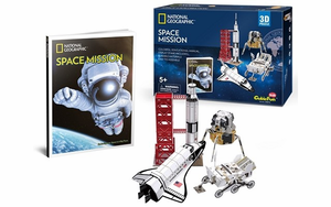 National Geographic Space Mission 3D Puzzle Kit