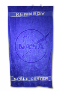 Official NASA Meatball Beach Towel Royal