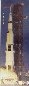 Panoramic Puzzle<br>NASA The Moment of Truth for Apollo 11