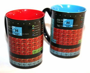 Periodic Table Mug Blue