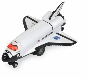 Radio Controlled Space Shuttle Toy (Ages 5+)