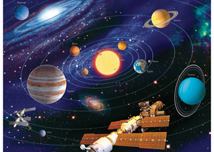 Ravensburger Puzzle - Solar System (Ages 8+)