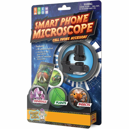 Discover with Dr. Cool Smart Phone Microscope