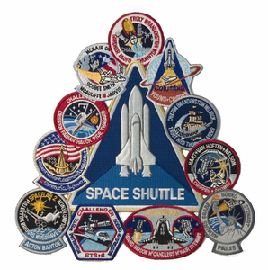 Souvenir Space Shuttle Collage
