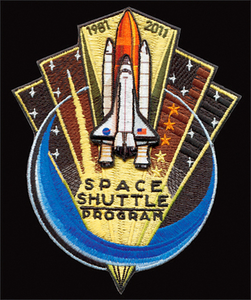 Space Shuttle Commemorative Patch & Gear