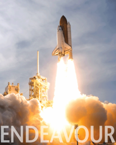 Space Shuttle Endeavour Launch Poster