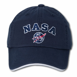 Mens Hat - American Needle Sport NASA Logo - Navy
