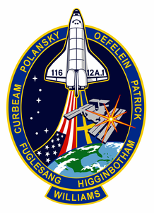 STS-116 Space Shuttle Discovery