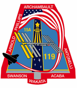 STS-119 Space Shuttle Discovery