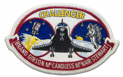 space shuttle challenger mission patch - photo #12