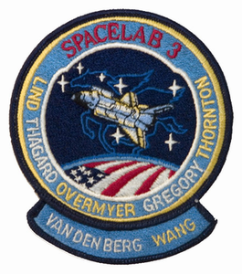 STS-51B Space Shuttle Challenger