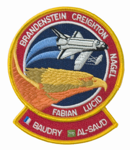 STS-51G Space Shuttle Discovery