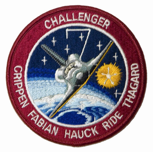 STS-7 Space Shuttle Challenger