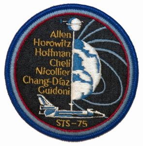 STS-75 Space Shuttle Columbia
