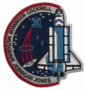 space shuttle columbia mission patch - photo #18