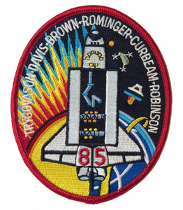 STS-85 Space Shuttle Discovery Mission Patch