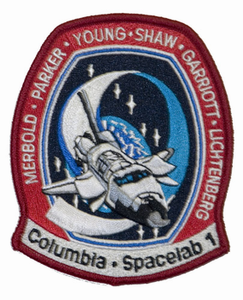 STS-9 Space Shuttle Columbia