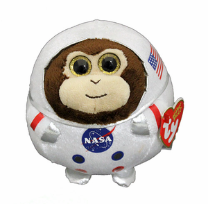 ty Beanie Ballz Private Ham Space Chimp