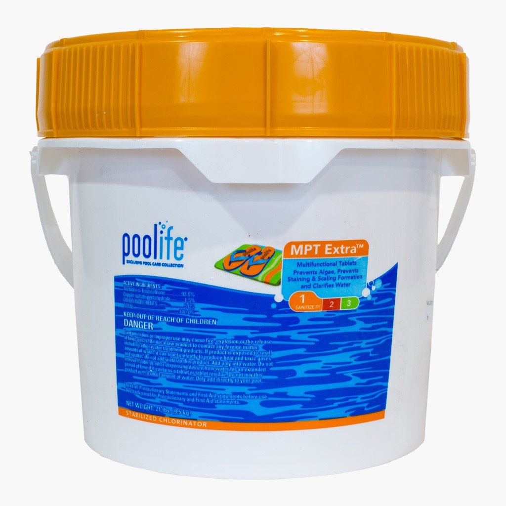 Poolife MPT Extra Multipurpose 3 Inch Chlorinating Tablets 21lbs