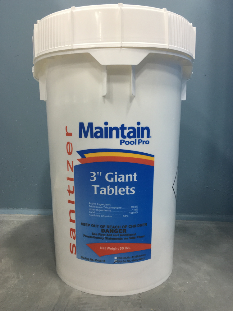 50 Lbs 3 Quot Chlorine Tablets Highest Quality
