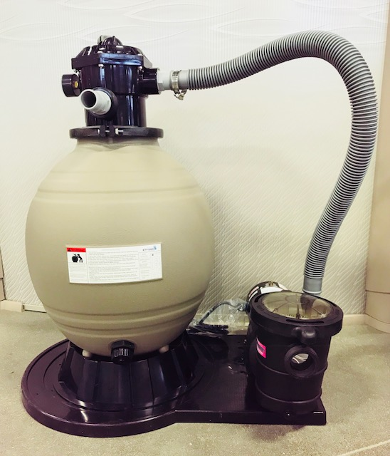 Blue Torrent Mega Clean 18 Quot Sand Filter System With 1 Hp Pump