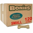 BONIES Natural Dental Health BULK BOX SMALL (120 Bones)