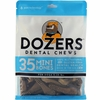 Dozers Dental Chews for Dogs 5-15 lbs (35 Mini Bones)