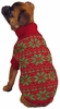 East Side Collection Holiday Snowflake Sweater Red