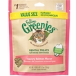 Greenies Feline Dental Treats - Savory Salmon Flavor (5.5 oz)