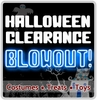 Halloween Clearance Blowout!