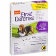 Hartz First Defense Flea & Tick for Dogs - 45-88 lbs