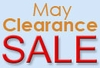 May Clearance Sale