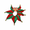 Pet Works Holiday Jester Collar with Bells - Small