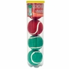 """Pet Works Holiday Tennis Balls 2.5"""" (4 pack)"""