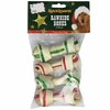 Ranch Rewards Holiday Rawhide Bones - 4In (4 Pack)