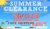 Summer Clearance Seasonal Sale