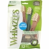 Whimzees Toothbrush Dental Dog Treats - Medium (12 count)
