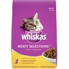 Whiskas Meaty Selections - Adult Dry Cat Food (15 lb)