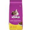 Whiskas Meaty Selections - Adult Dry Cat Food (6 lb)